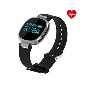 E08 Bluetooth4.0 Smartband Heart Rate Swimming Monitor IP67 Impermeabile Fitness Tracker anti-perso per IOS Android Smart Wristband
