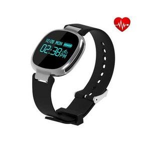 E08 Bluetooth4.0 Smartband Kalp Hızı Yüzme Monitör IP67 Su Geçirmez Spor Izci Anti-kayıp IOS Android Akıllı Bileklik için