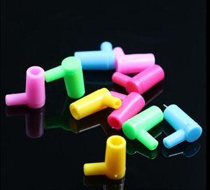 Порт переключателя локтя, пластичный локоть, переходника сторновки, цвет, тип, случайная поставка, трубы водопровода, стеклянные бонги, стеклянные кальяны, куря труба