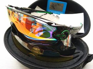 2020 OAK 11 Farben Jawbreaker Radfahren Brillen polarisierten Sonnenbrillen Radfahren Rennen Sport Radsportbrille Mountainbike Brille 4 LENS
