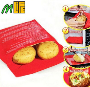 New Arrival Microwave Oven Potato Baking Bag Steam Pocket(cooks 4 potatoes at once) In 4 Minutes Fast Easy Cooking Tools