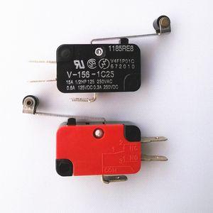 V-156-1C25 Micro Switch Levier longue charnière / bras de levier / rouleau NO + NC 100% tout neuf Momentary Limite Micro Switch SPDT Action instantanée Commutateur