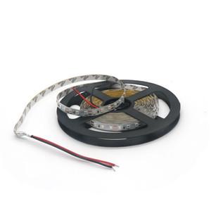 Edison2011 8mm 2835 tiras llevadas 120leds / m 5M flexible cinta cuerda luz no caliente impermeable Blanco Azul Verde Rojo DC12V