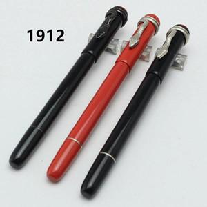 Colección de patrimonio de tamaño de alta calidad única de alta calidad Ruge et Noir Ballpoint / Fountain Pens Edition Especial Mon Black Rolllerball Snake Clip