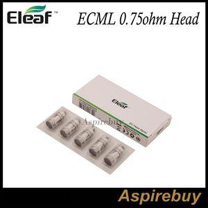 Bobina da substituição da cabeça de Eleaf ECML 0.75ohm para compatível com Melo 3 / MELO 3 Nano / iJust S / Lemo 3 / iJust 2 / iJust 2 mini / Melo / Melo 2 Atomizador