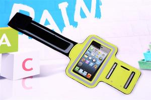 Armband мобильного телефона дела Running Gym Спорт Мобильный телефон Обложка Водонепроницаемый повязку сумка для iPhone 7 Plus 7 6Plus