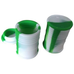 Recipientes do silicone do produto comestível 9ml Dab Wax Recipiente do recipiente do óleo do silicone Recipientes dos recipientes de silicone da caixa da cera do silicone Recipiente dos frascos