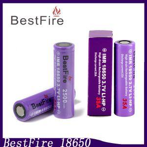 Bestfire18650 аккумулятор 35А 2500mAh литий-ионные батареи жидкостью Vape подходит kanger Toptank Dripbox мини-модов 0204136