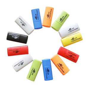 500Pcs High Quality, Little Dog USB 2.0 Memory TF Card Reader ,Micro SD Card Reader DHL FEDEX Free Shipping