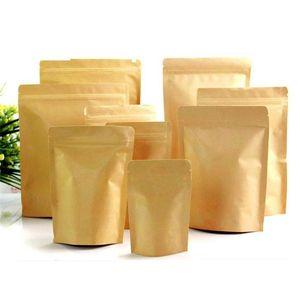 Пищевые влагостойкие пакеты, крафт-бумага с подкладкой из алюминиевой фольги UP UP Pouch, Ziplock Упаковочная сумка для выпечки закусок и конфет