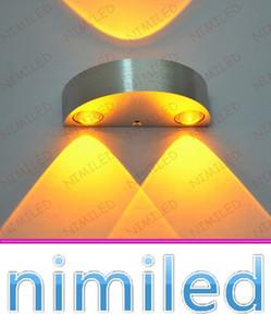 Nimi969 6 W Basit Modern LED 3 W Yarım Daire Alüminyum Başucu Lambası Dekoratif Lambalar Arka Plan Oturma Odası Duvar Işıkları Koridor Merdiven Oteller