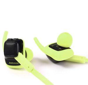 Original Jabees battant écouteurs Bluetooth 4.1 Stéréo Sport Casque avec Microphone Support Mains Libres Appel Étanche