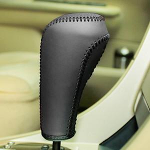 Чехол для Peugeot 307 408 2008 автоматические крышки передач натуральная кожа Shift воротники рука сшитые Gear Cover