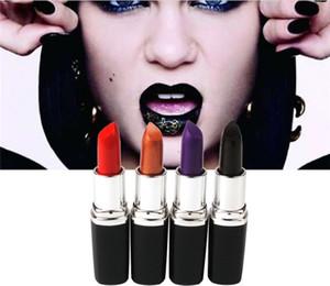 Lápiz labial de comercio exterior en Europa y América y púrpura Blood Blue Lápiz labial de color especial Lápiz labial Bullet Outer Casing Dazzle Color Pack