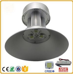 LED 높은 베이 빛 주도 산업 조명 100W 150W 200W 에너지 절약 램프 공장 워크숍 조명 크리 어 칩 Meanwell 드라이버