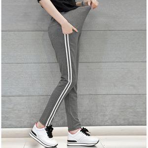 Sonbahar / İlkbahar için 2016 Modası Şerit Ayarlanabilir Annelik Tayt Analık Pantolon