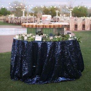 """لامعة جدول Sequin Overlay 50 """"x 50"""" طاولة قماش لطاولة زينة الزفاف قماش لوازم الزفاف"""