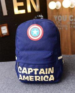 2017 Modetrends Captain America, kleiner Schild, Rucksack, Schulwind, Studententaschen, lässiger Männer- und Frauenrucksack