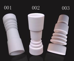Precio de fábrica de uñas de cerámica Domeess para ambos 14.5 mmand 18.8 mm apto pipa de vidrio de fumar VS uñas de cuarzo DHL envío gratis