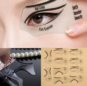 10pcs set Beauty Cat Eyeliner Stencil Smokey Eye Stencil Template Shaper Smokey Eye Eyeliner Makeup Tool Eyeliner Models Template