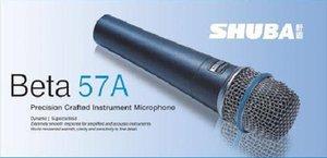 10pcs originale SHUBA Beta57A rete microfono per computer cablata strumento canzone K registrazione vocale microfono