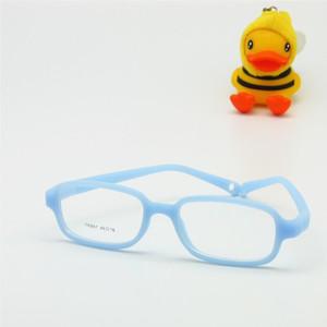 Kinder Brillengestell mit Strap Größe 46/16 einteilig keine Schraube 4-6Y, flexible optische Jungen Mädchen Brille