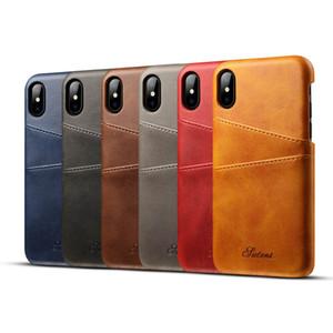Criativo para iphone XS XS XR max 8/7/6 s para samsung s9 note9 huawei mate9 case pu cartão de teste padrão do rato de couro muito tampa traseira pacote de varejo