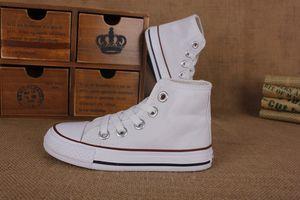 ЕС размер 24-34 новый бренд дети холст обувь Мода высокая низкая обувь мальчиков и девочек спортивная холст обувь и спортивные Детская обувь