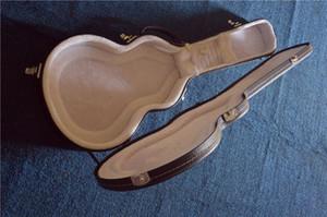 Direto da guitarra elétrica de HARDCASE mais vendida da China, forro de couro preto branco