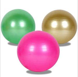 45/55 / 65cm 5 Renk Toptan Yoga spor erercise Topu Kalın Exproof Masaj Toplar Zıplayan top Jimnastik egzersiz pilates topları