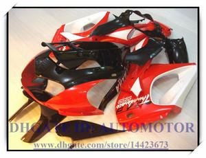 Kit de carenado abs negro rojo apto para YAMAHA YZF1000R 1996-2007 1997 1998 1999 2000 YZF 1000R 1996-2007 YZF1000R 96-07 # AD836 ROJO NEGRO