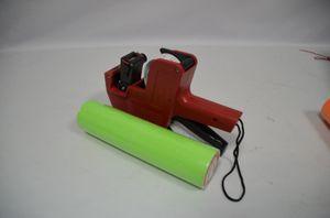 MX-5500 EOS 8 أرقام Price Tag Gun Gun Laberer + 5000 Green / blank labels +1 Ink