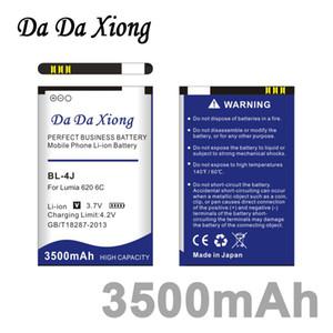 Da Da Xiong 3500mAh BL-4J BL4J Li-ion Batteria per Nokia Lumia 620 Batteria C6 C6-00 Bateria Touch 3G C600