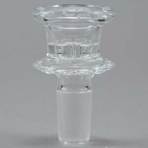 201 Neues Design mobius Glasschale mit 14mm 14.4mm männlichen Verbindungsglas Rauchen Schüssel 18.8mm 18mm Größe Raucherbedarf Großhandel freies Verschiffen