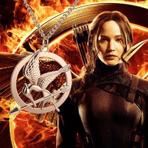 Anhänger Halskette Modeschmuck Europäische Und Amerikanische Beliebte Hunger Games Mock Bird LOGO Halsketten