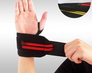 1 paire haltérophilie bracelet sport formation professionnelle bandes à la main repose-poignets sangles wraps gardes pour gym fitness