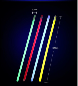 100 unids 8 pulgadas Mix Color Glow Stick Safe Light Stick Collar Pulseras Fluorescentes para Evento Festivo Fiesta Suministros Concierto decoración