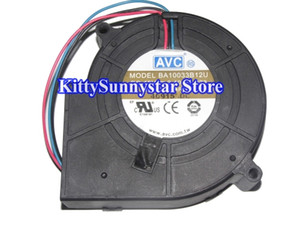 AVC 10CM 9733 BA10033B12U 12V 2.4A 3Wire DC Blower Fan for power server