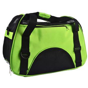 2016 Yeni Seyahat Köpek çantaları pet kadife renkli kedi taşıma çantası
