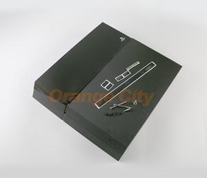 حالة الإسكان الكامل لسوني لPS4 1000 1100 وحدة التحكم أسود حالة وحدة التحكم للحصول على لون بلاي ستيشن 4 الإسكان البيت شل يكون شعار
