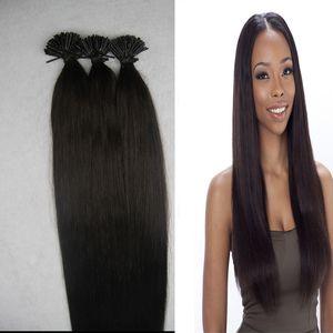 Fusion Hair Extensions Keratin Glue In Nail I Tip Hair Extension Natural Color 100g cabello humano Wxtensions queratina