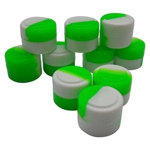 Nuevo llega el mini de 2 ml Antiadherente Shatter Concentrate Silicone Cure Cubes Jar Contenedor 200 unids / lote