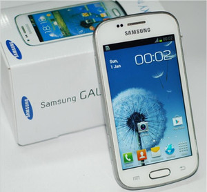 الأصلي سامسونج غالاكسي تريند Duos S7562i 4.0 بوصة شاشة TFT 4G ROM أندرويد OS 3G تجديد الهواتف المحمولة مقفلة