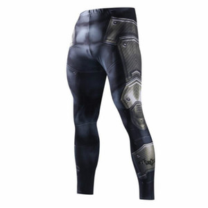 Skinny Sweatpants For Men Compression Pants Men Fashion Leggings Jogger Men 3D Fitness Pants Elastic Trousers