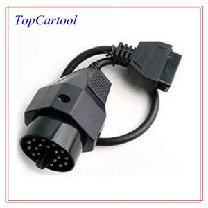 Topcartool OBDDIY 20 pin adaptador hembra para bmw 20 pin obdii cable Para BMW 20pin a 16pin conector de diagnóstico 20 pin bmw obd adaptador