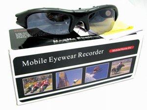 Yeni Yenilik Mini Güneş Gözlüğü Kamera Video Kaydedici Spor Kamera DVR Spor kamera PC kamerası Dijital USB disk