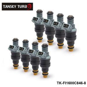 TANSKY-new H G 8Pcs Nouvel injecteur de carburant 1600cc 152lb / hr pour Audi Chevy Ford 0280150846 TK-FI1600C846-8