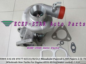 YENI TF035HM TF035HM-10T 49135-02210 MR431249 Turbo turbocharger Mitsubishi L300 L400 1999- Motor 4D56 2.5L