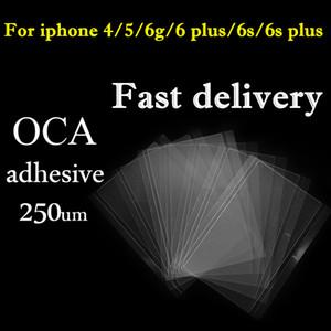 LCD OCA ملصق فيلم 4S اي فون 4 5 5S 5C 6 6S 6 زائد بصري واضح لاصق الغراء اللاصق ميتسوبيشي قطع الغيار