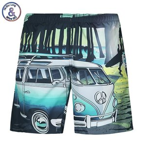 Großhandels-Neue Marke Shorts Männer Sommer 3D Digitaldruck Auto Strand Shorts Sport kurze Hosen